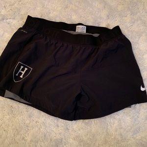 Harvard Nike Drifit Shorts/Spandex, large